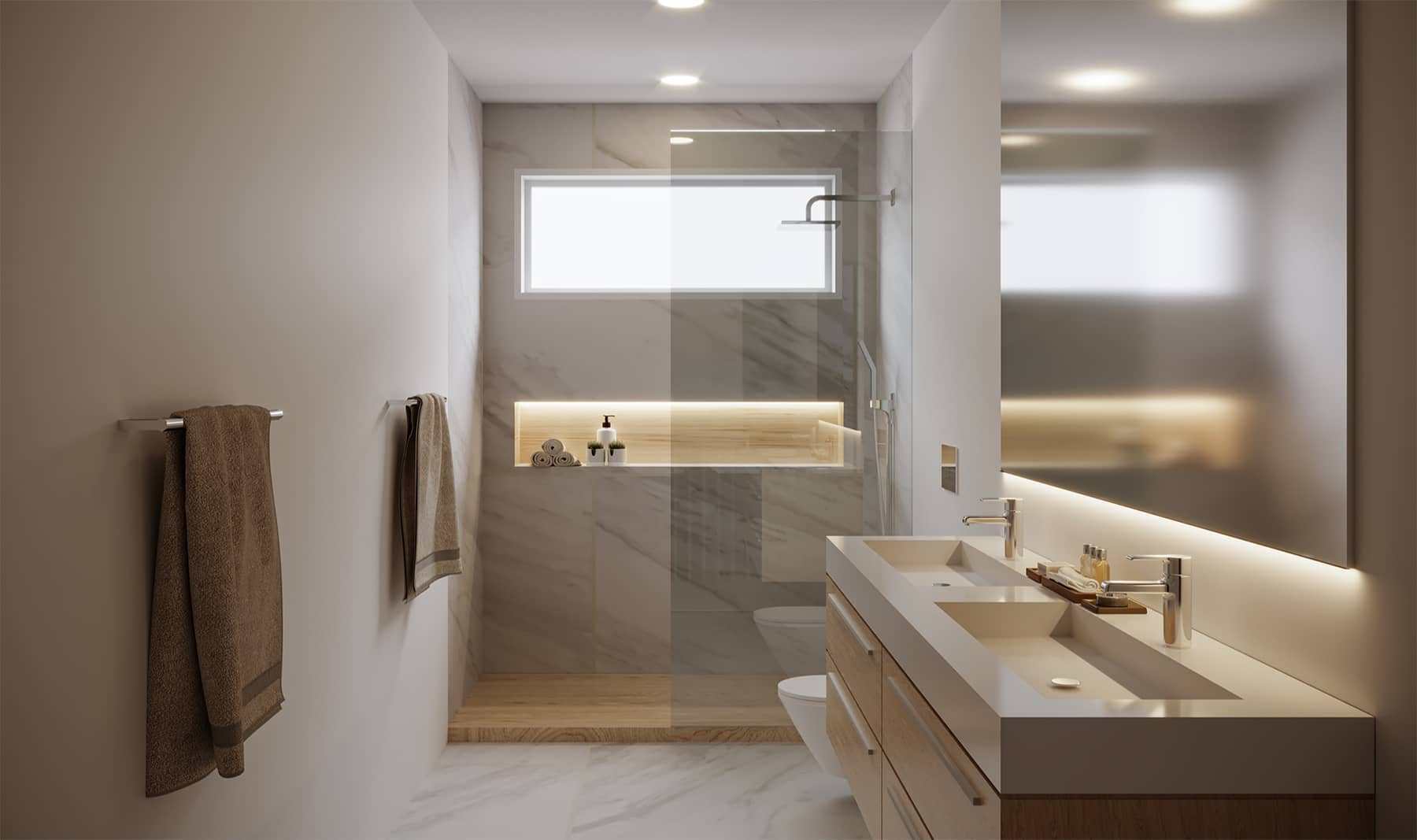 Welcome Homes - Medium | Guest Bathroom