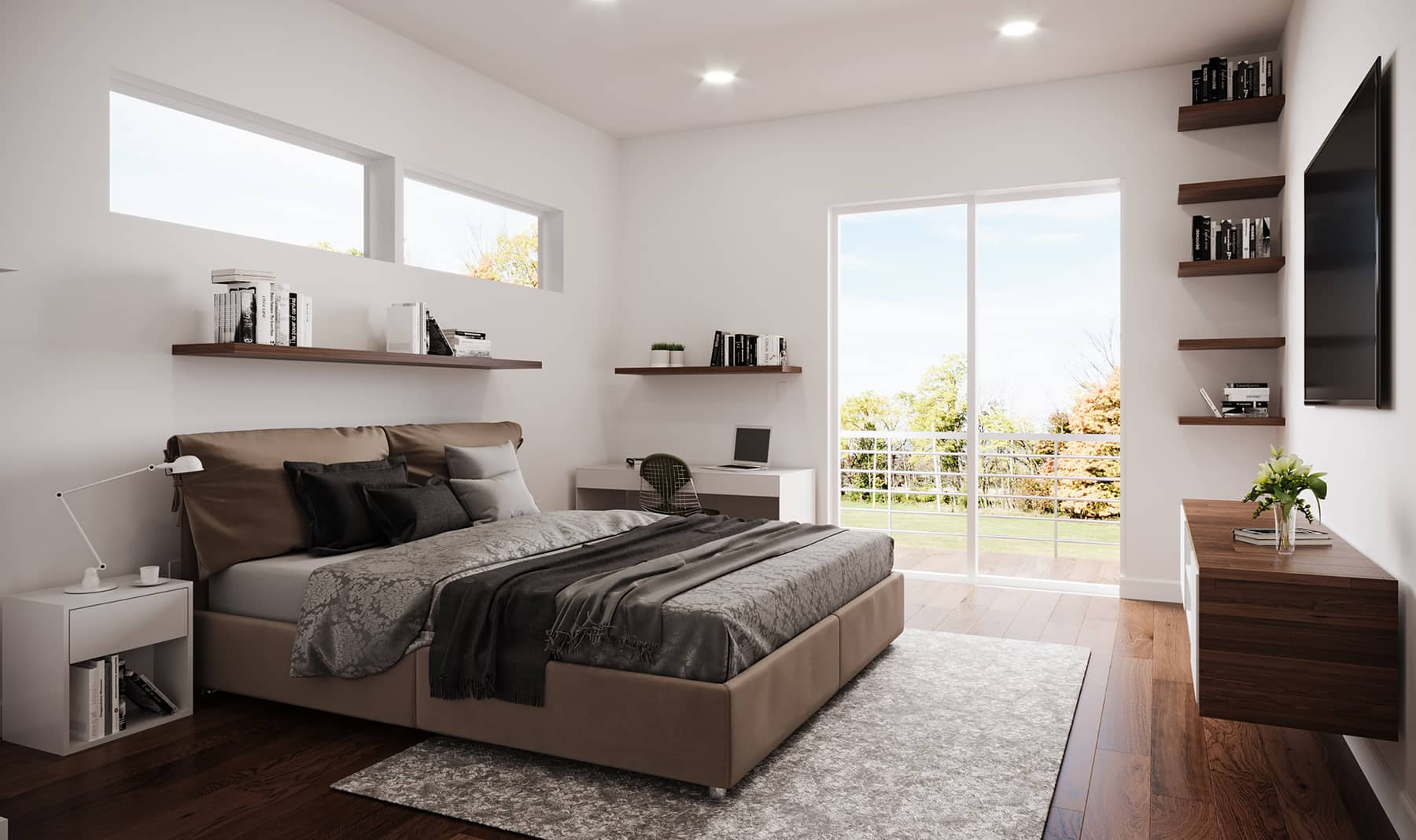 Welcome Homes - Medium | Secondary Suite | Bedroom