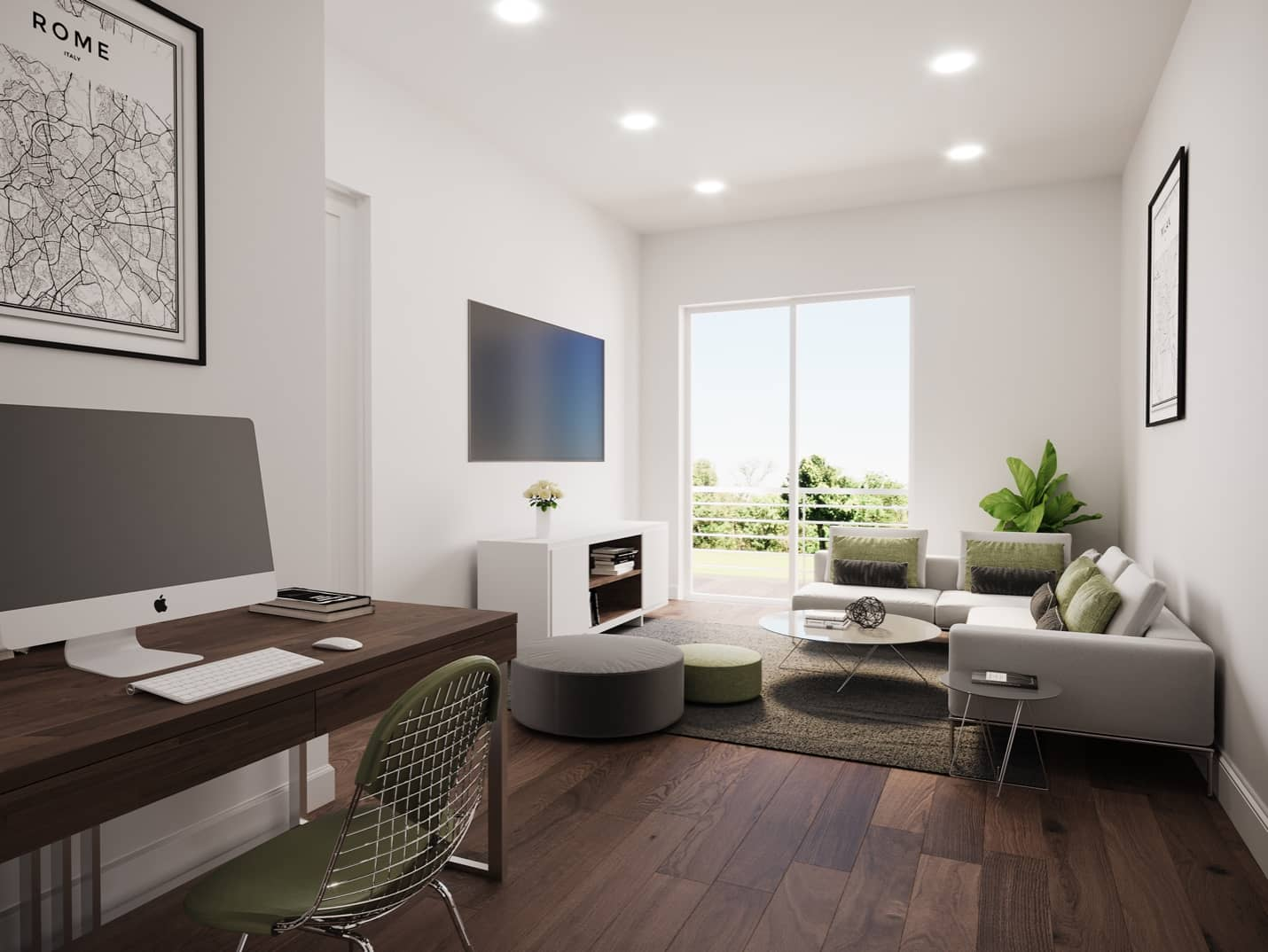 Welcome Homes - Medium | Secondary Suite | Common Area